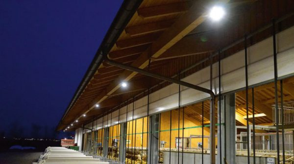 LED Licht im Stall